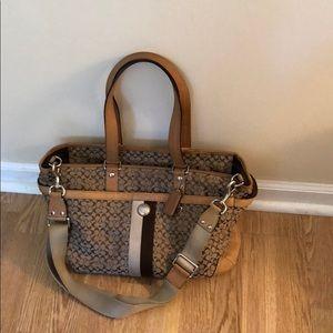 Coach ladies briefcase.